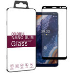 Full Fit Tempered Glass Screen Protector for Nokia 9 PureView - Black